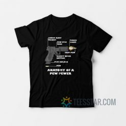 Anatomy Of A Pew Pewer Pistols T-Shirt