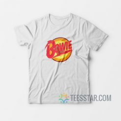 Bowie Vintage Diamond Dogs Logo T-Shirt