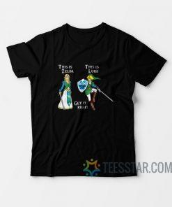This Is Zelga This Is Luigi T-Shirt