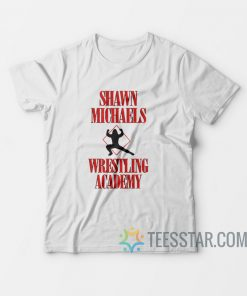 Vintage Shawn Michaels Wrestling Academy T-Shirt
