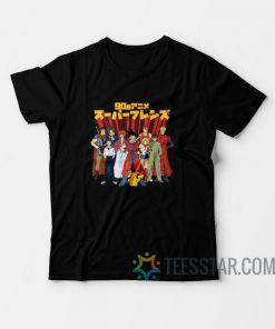 90s Anime Super Friends T-Shirt