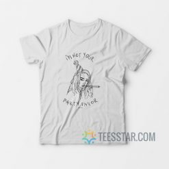 Billie I'm Not Your Party Favor T-Shirt
