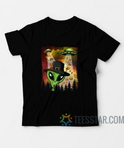 Alien UFO Invasion Of Thanksgiving Y'All T-Shirt