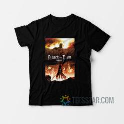 Attack On Titan Fire T-Shirt