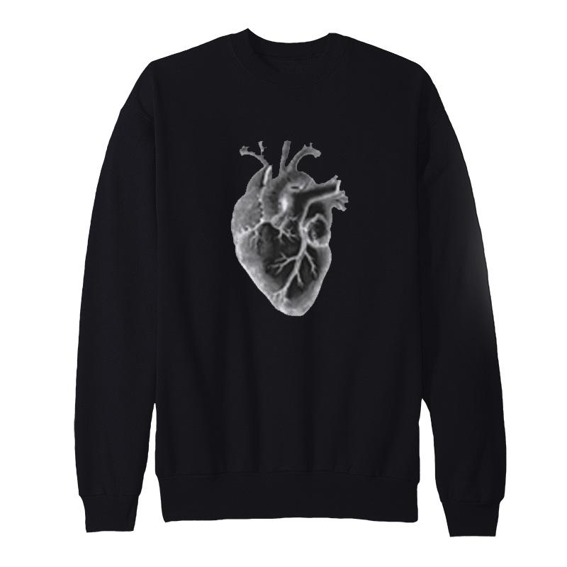 Human Heart Anatomical sweatshirt
