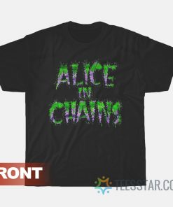 Alice in Chains Shirt 1989