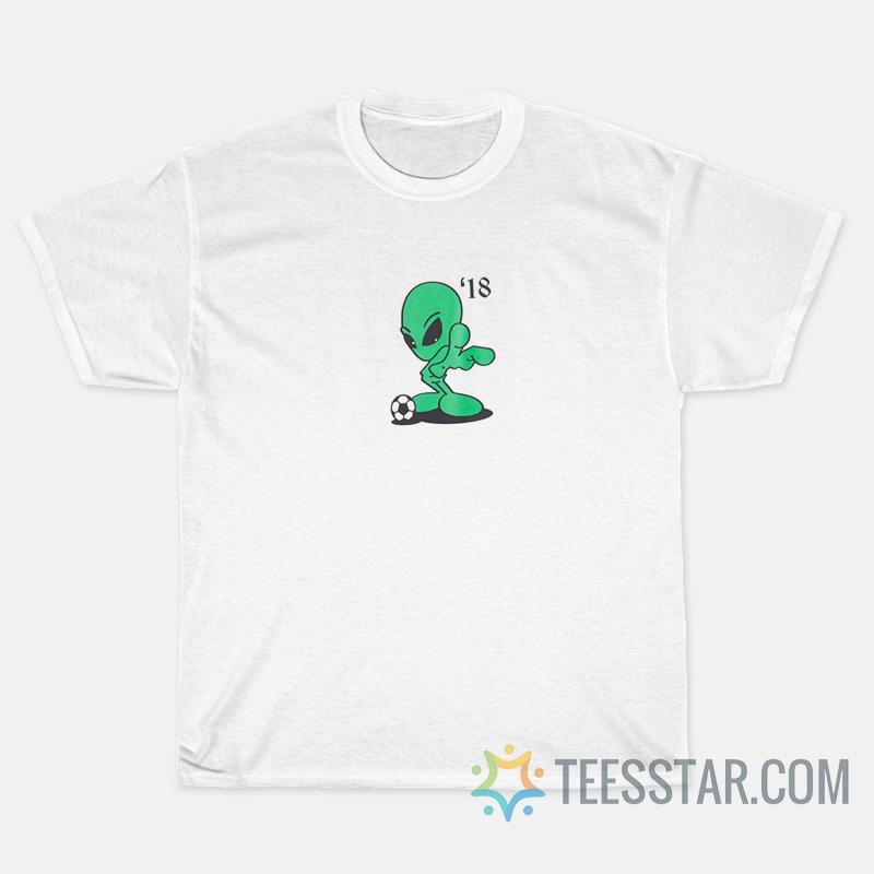Gosha Rubchinskiy Gosha Alien Soccer T-Shirts
