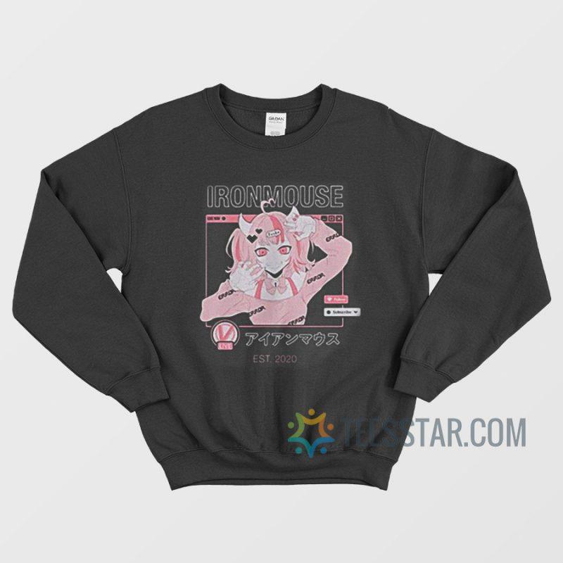 Ironmouse Est 2020 Sweatshirt