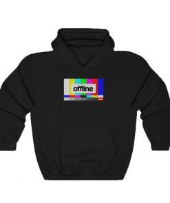 Offline Rainbow TV Error T-Shirt & Hoodie
