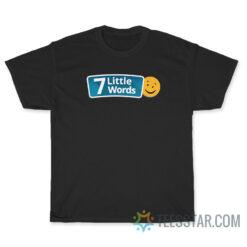 7 Little Words Logo T-Shirt
