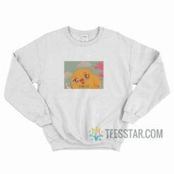 Anime Kawaii Duck Off Classic Sweatshirt