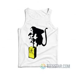 Banksy Monkey Detonator Tank Top