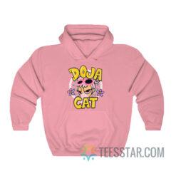 Cute Doja Cat Hot Pink Hoodie