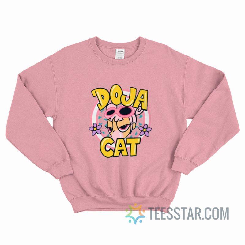 Cute Doja Cat Hot Pink Sweatshirt