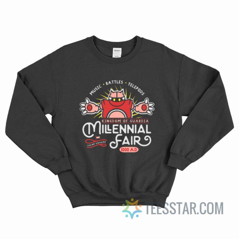 Music Battles Telepods Kingdom Of Guardian Millenial Fair Sweatshirt