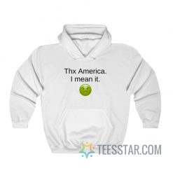 Thx America I Mean It Kim Namjoon Hoodie