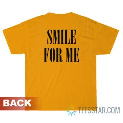 Kim Namjoon BTS Smile For Me T-Shirt