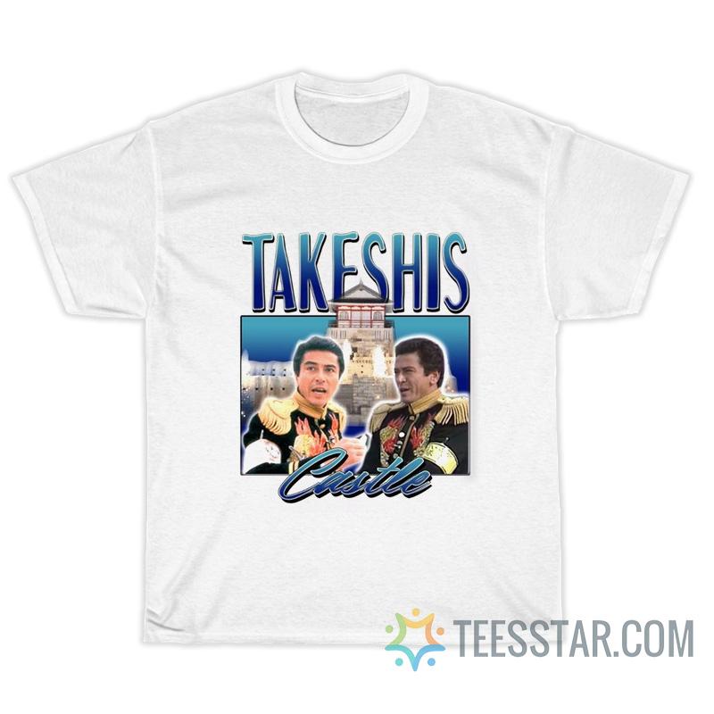 Vintage 90s 80s Takeshis Castle T-Shirt