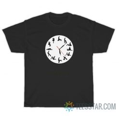 24 Hours Sexual Position Wall Clock T-Shirt