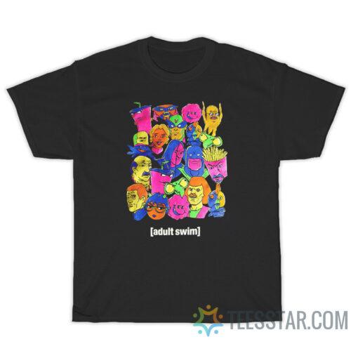 Adult Swim Character T-Shirt
