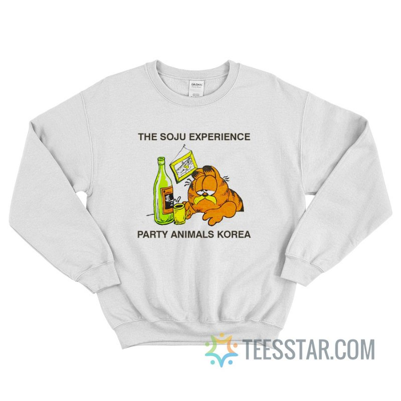 The Soju Experience Party Animals Korea Sweatshirt