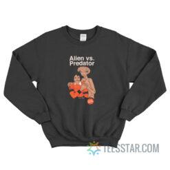 Alien Vs Predator Et Michael Jackson Sweatshirt
