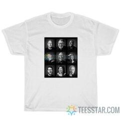 34 Years Of Startrek Character T-Shirt